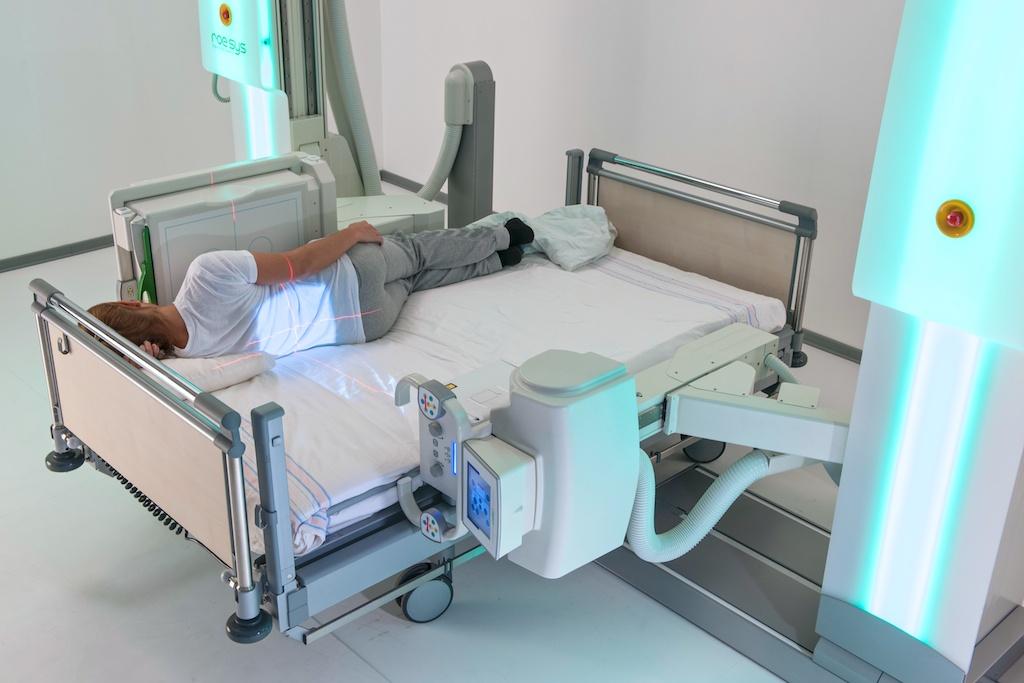 Sistema multifunzionale di radiografia digitale Roesys X Twin - Assing