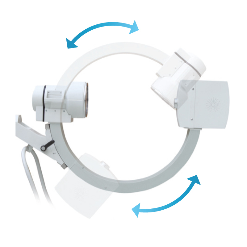 Arco a C per Radiografia e Fluoroscopia, Robin - Assing