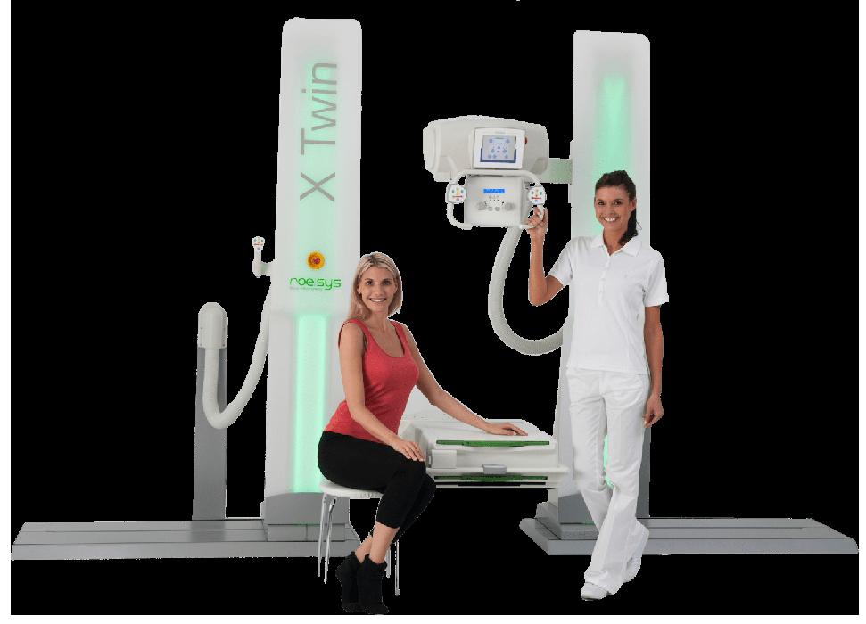 Sistema multifunzionale di radiografia digitale X Twin - Assing