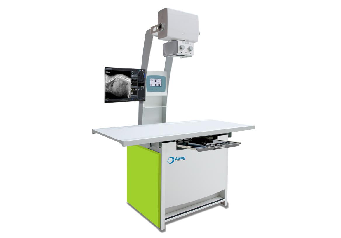 Tavolo radiologico veterinario - Assing